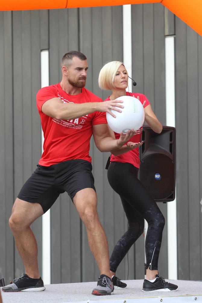 Treneri Lidija Ocokoljić i Marko Robal