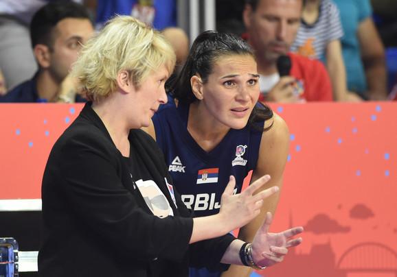 Marina Maljković i Sonja Petrović