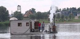Zbudowałem sobie parostatek. Jedyna taka łódź w Polsce!