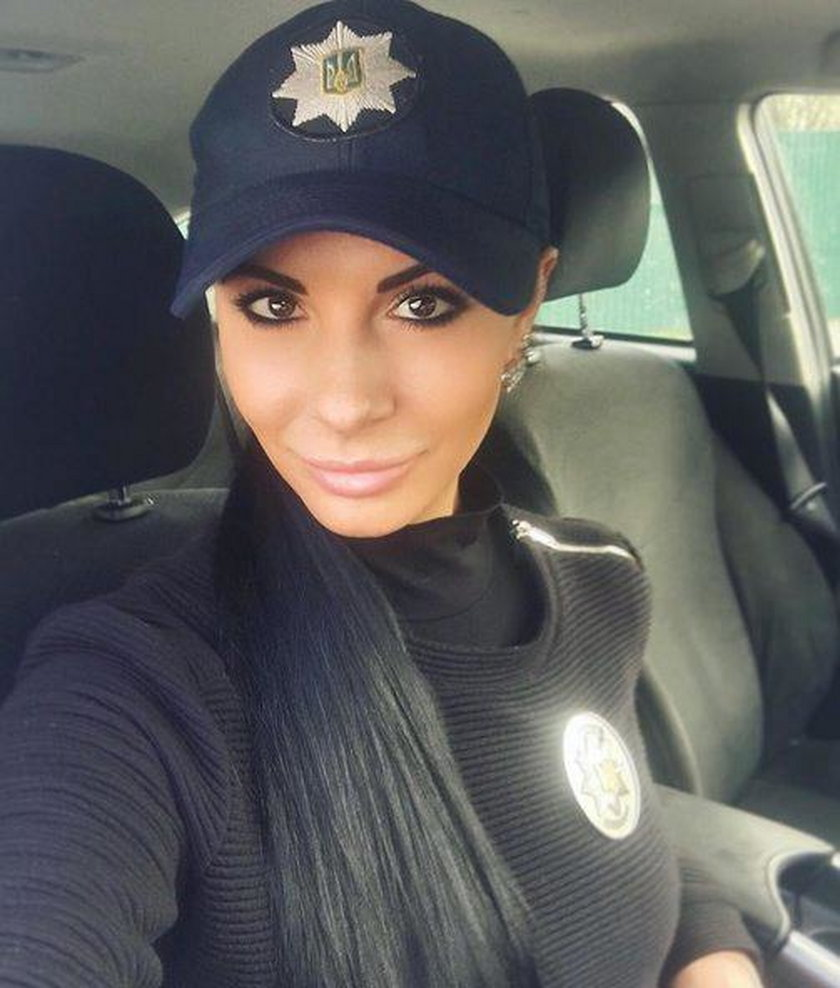 Ludmiła Milewicz, najseksowniejsza policjantka Ukrainy