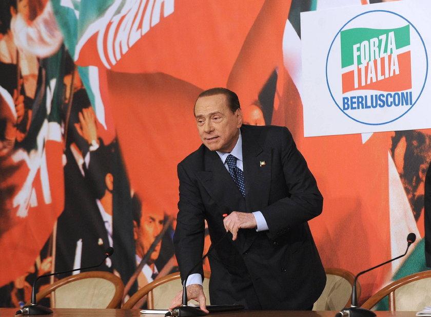 Kłopoty Silvio Berlusconiego. Komornik zajął już meble!