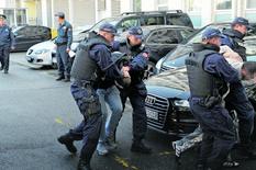 Crnogorska policija hapšenje