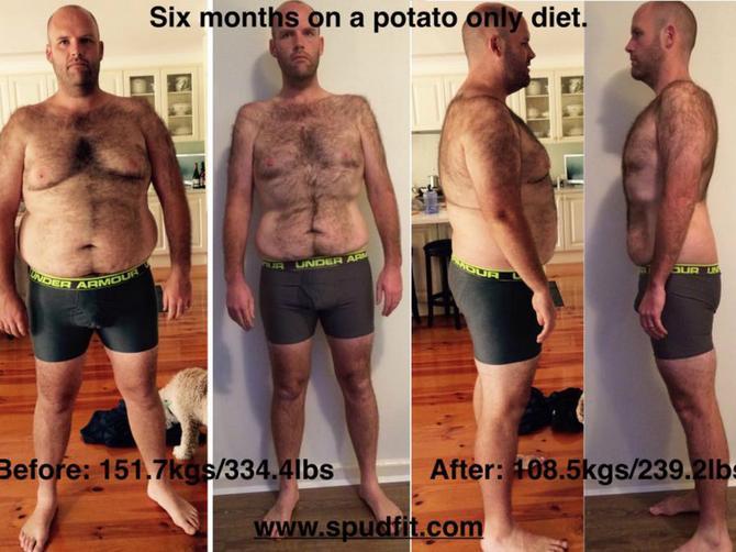 Godinu dana je jeo samo krompir. Evo šta mu se desilo