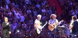 Polacy na koncercie U2 wdarli się na scenę. Co zrobił zespół?
