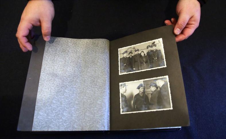 Album ze zdjęciami Heleny Wolińskiej