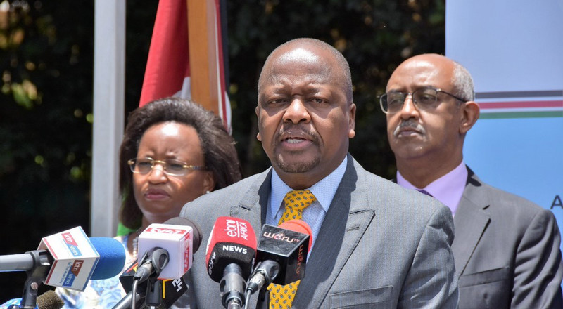 Testing of Doctors, nurses, rapid response teams for COVID-19 to begin immediately - CS Kagwe