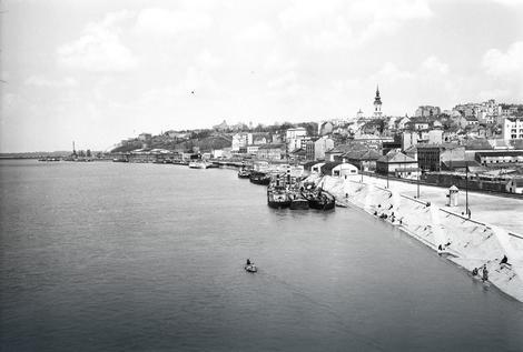 Pogled na Beograd 1953. godine