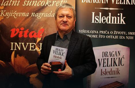"""Dragan Velikić, prošlogodišnji dobitnik """"Vitalove"""" nagrade"""