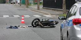 Motocykl zderzył się z Mazdą. Nie żyje 16-latka