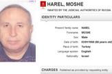 Moshe Harel , prtscn Interpol