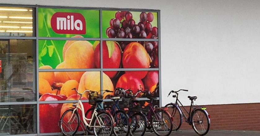Sieć Mila liczy obecnie 188 supermarketów.