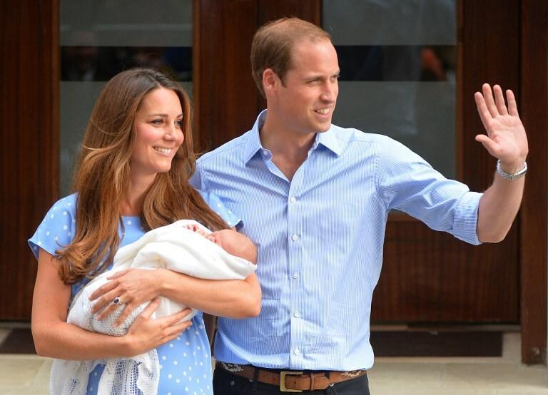 Narodziny księcia George'a (Jerzego)