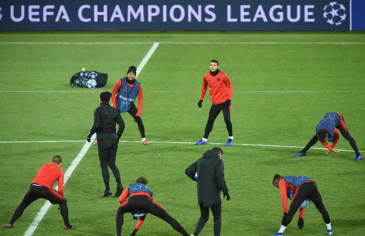 FK PSŽ, trening