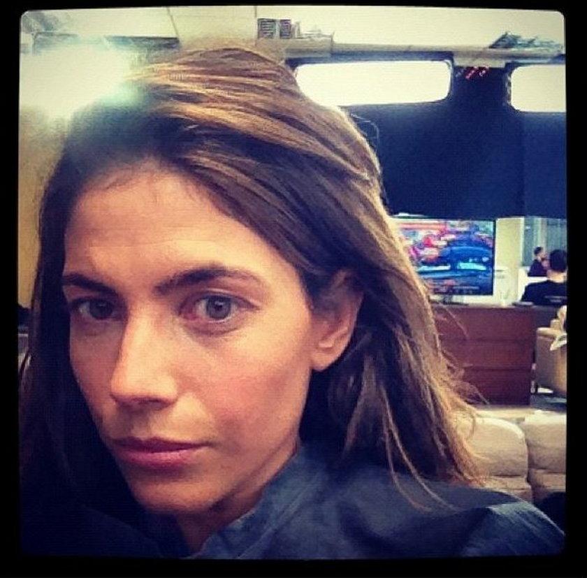 Weronika Rosati bez makijażu