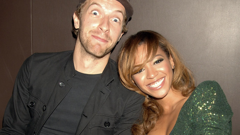 Chris Martin i Beyonce w 2006 roku (fot. Getty Images)