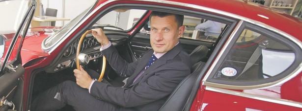 Arkadiusz Nowiński, prezes Volvo Polska. Fot. Grzegorz Kawecki