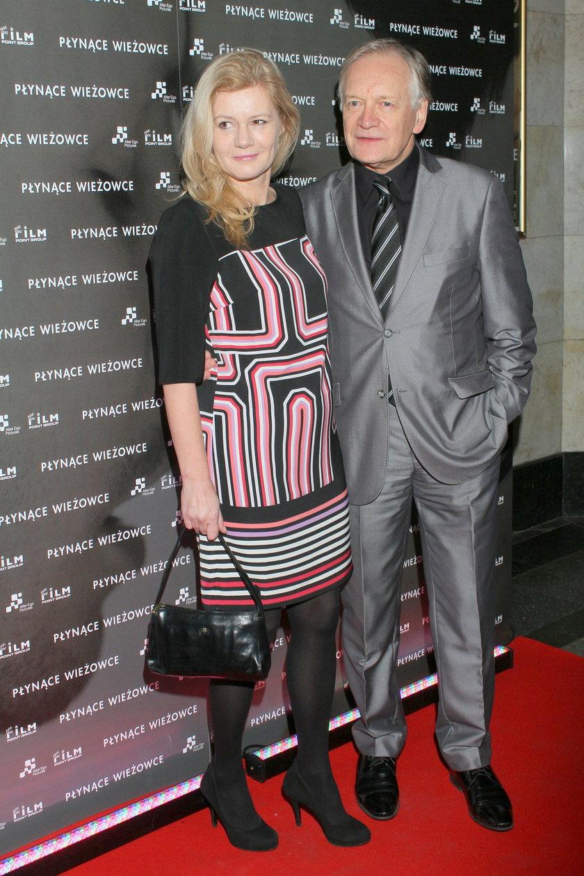 Andrzej Seweryn i Katarzyna Kubacka