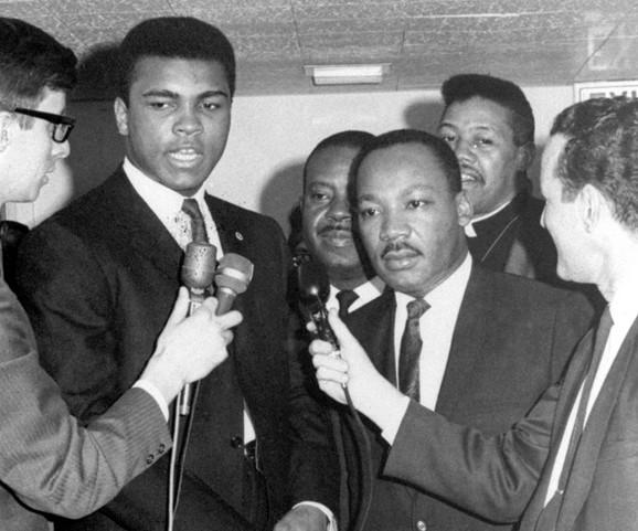 Muhamed Ali i Martin Luter King