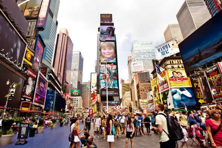 Foto 3 Njujork Time skver