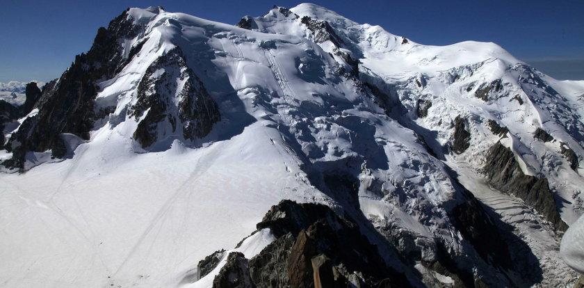 40-letnia Polka zginęła na Mont Blanc. Padła ofiarą przewodnika-przebierańca?