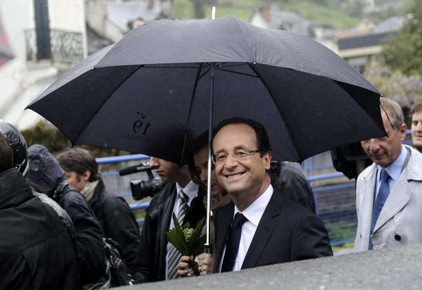 francja wybory Francois Hollande prezydent