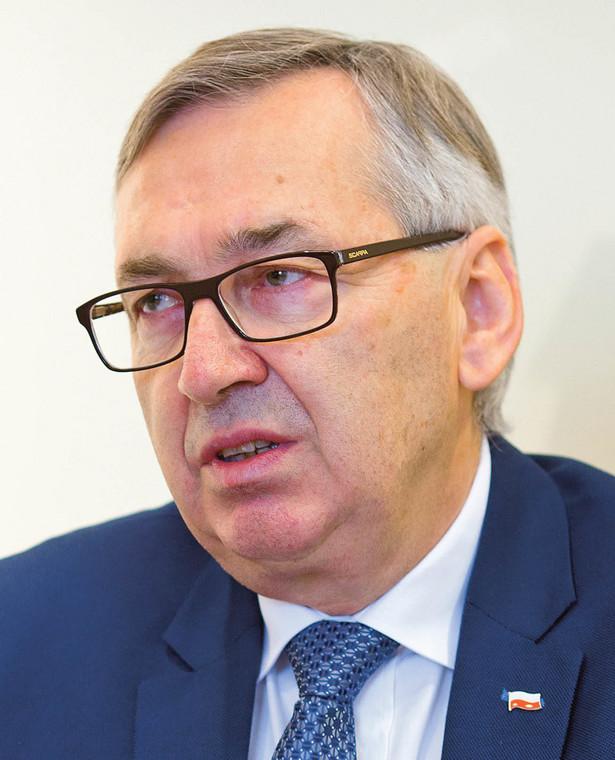 Stanisław Szwed wiceminister rodziny pracy i polityki społecznej