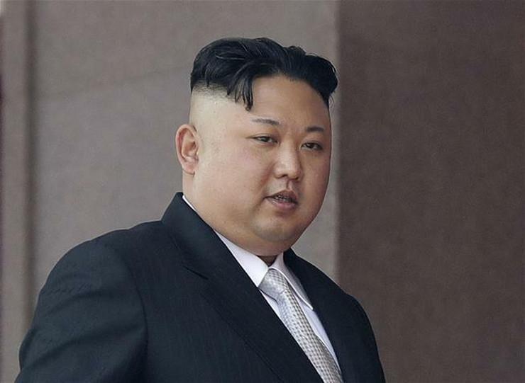 Kim Džong Un AP