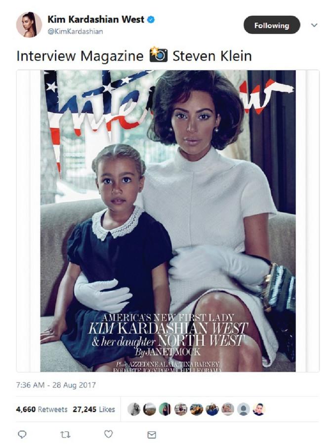 Dame i gospodo, Kim Kardašijan Vest i Nort Vest kao prva dama SAD i prva ćerka Amerike