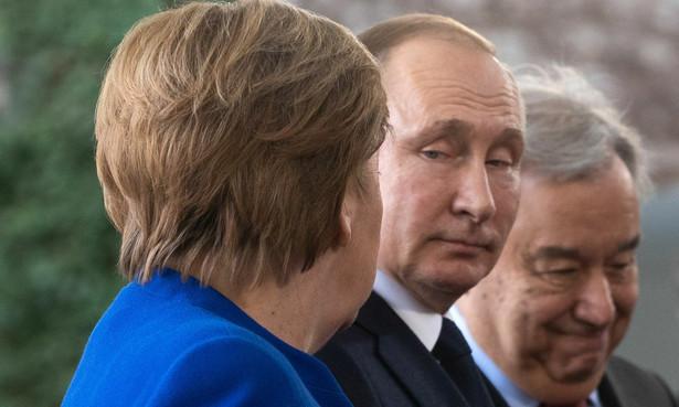 Angela Merkel i Włądimir Putin