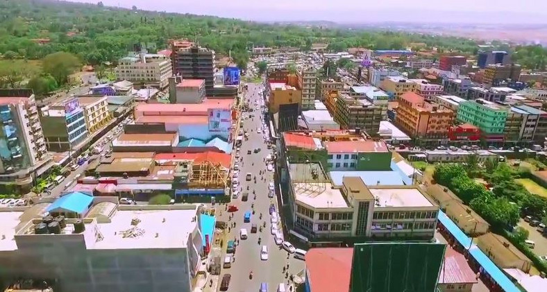 An overview of Nakuru town