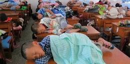 Horror? Tak leżakują dzieci w Chinach