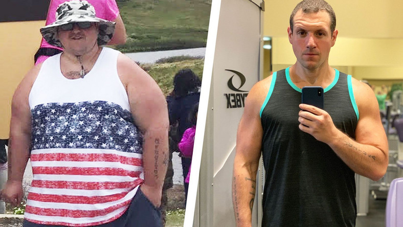 This Guy Fixed His Diet and Lost 180 Pounds