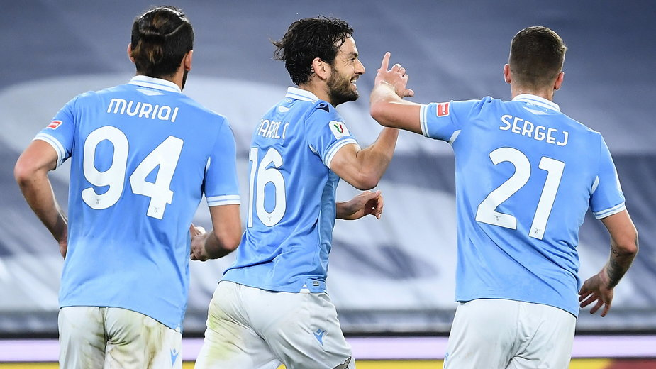 Radość piłkarzy Lazio
