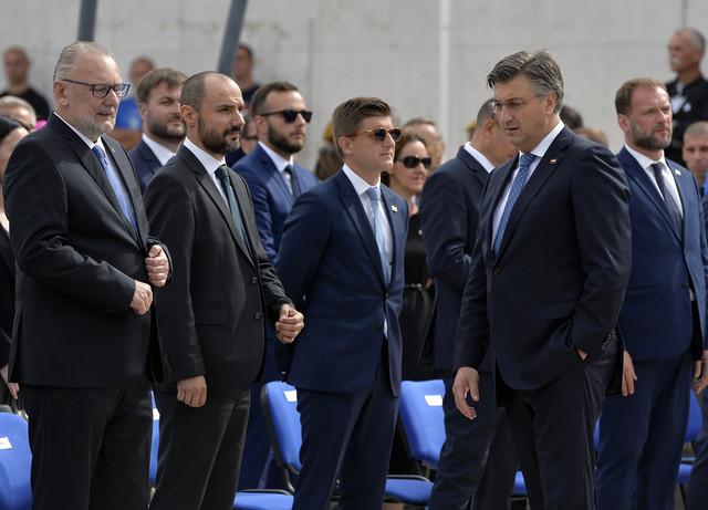 Boris Milošević u Kninu