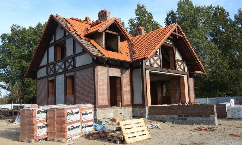 Budowa domu Kwaśniewskich