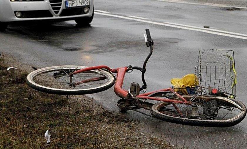 Śmiertelny wypadek na Podlasiu. Zginął rowerzysta