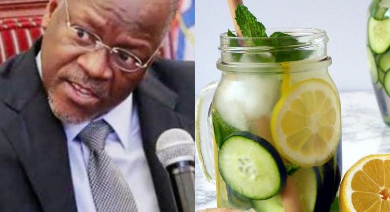 President Magufuli reveals son treated himself of coronavirus with ginger and lemon