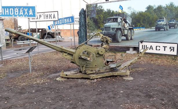 Sprzęt z walk w Donbasie.jpg