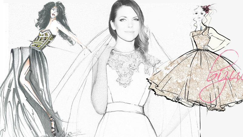 Suknie ślubne dla Oli Kwaśniewskiej