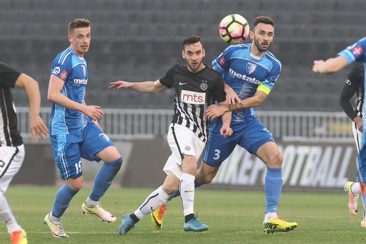 FK Partizan, FK Metalac