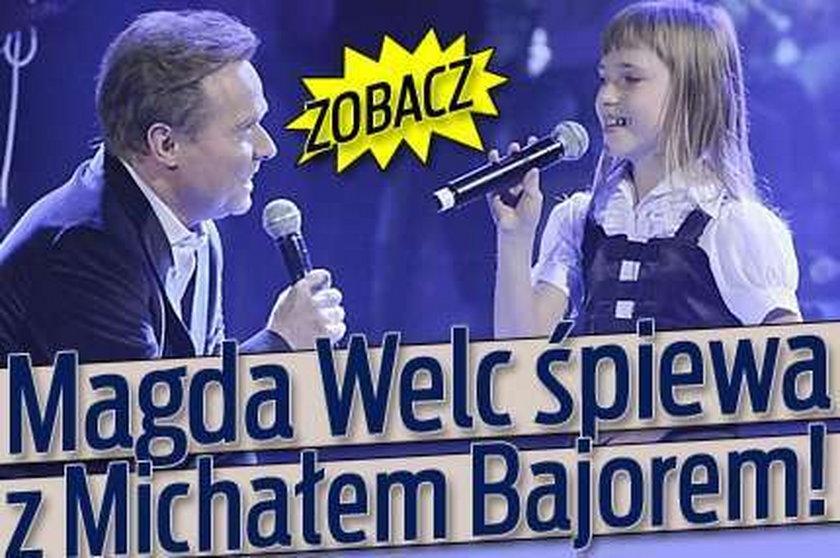 Magda Welc śpiewa z Michałem Bajorem!