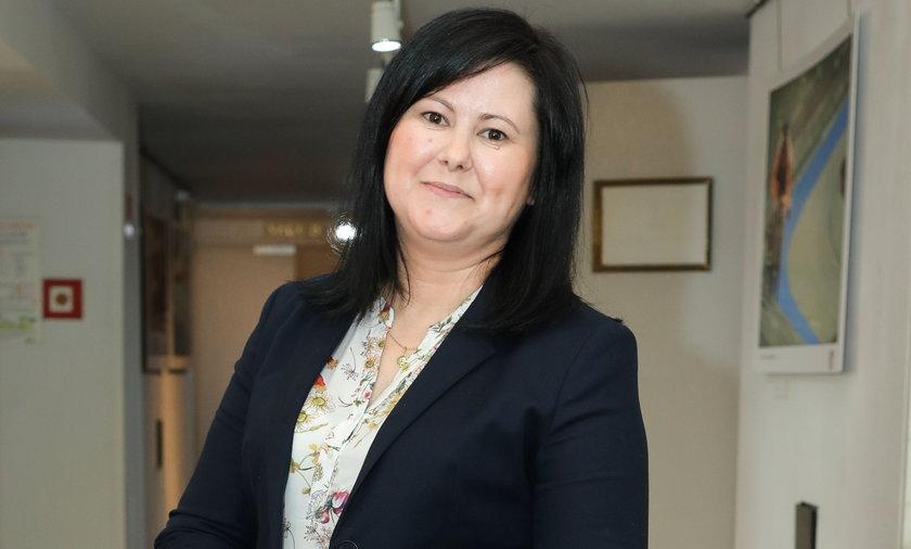 Na zdjęciu najsłynniejsza frankowiczka w Polsce, Justyna Dziubak.