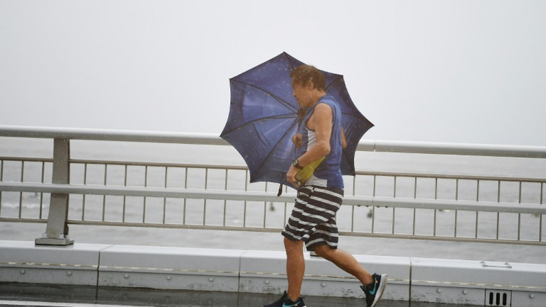 The storm is expected to bring heavy rain and strong winds