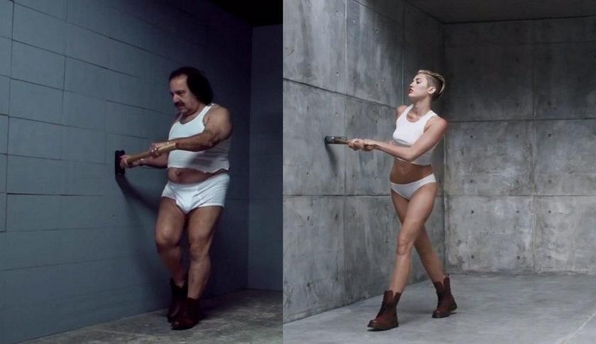 Parodia teledysku Miley Cyrus