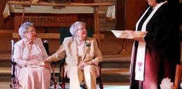 Były 72 lata razem, a teraz wzięły ślub!