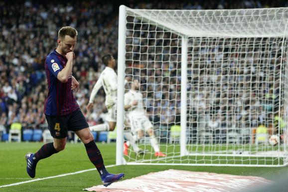 Rakitić slavi gol u Madridu