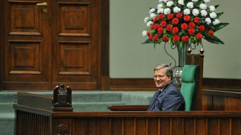 Komorowski: Termin wyborów ogłoszę na początku sierpnia
