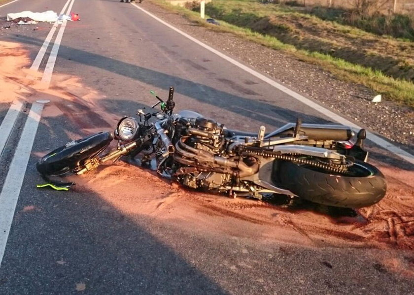 Groza pod Opolem, dopiero odebrał motor, zginął. Miał 3 dzieci!
