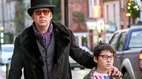 Nicolas Cage z synem na przedświątecznych zakupach