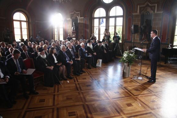 Igor Mirović: Mi danas, ovde, slavimo pobedu i trajnost načela slobode, ravnopravnosti i prosperiteta za sve